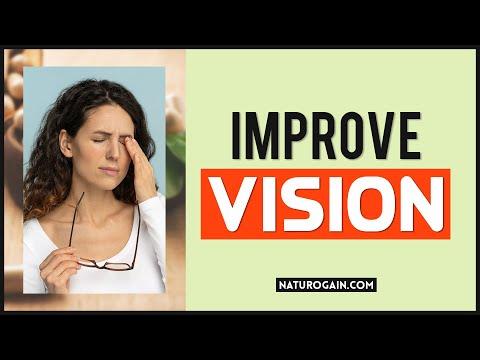 Improve Eye Vision, Cure Weak Eyesight Eye Strain with Herbal Treatment 👌😲