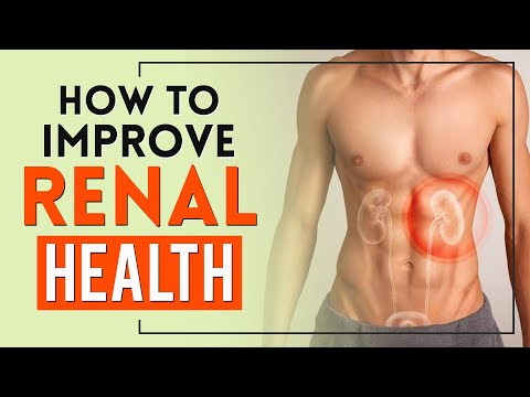 How to Improve Renal Health, Detox Kidneys Naturally at Home 😰🌿
