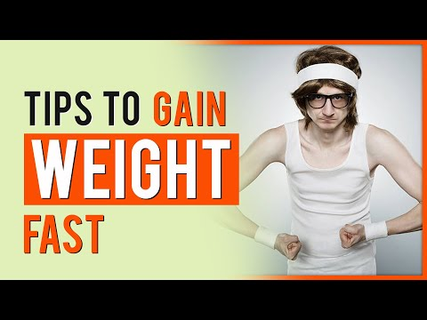 Tips To Gain Weight Fast, Increase Appetite, Underweight Treatment 💪😲