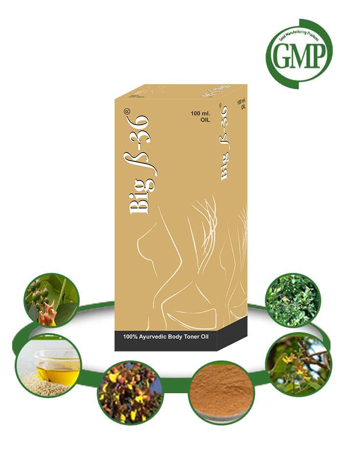 Natural Breast Enhancement Oil