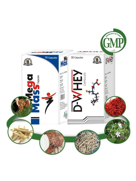 Herbal Mass Gainer Pills for Men and Women