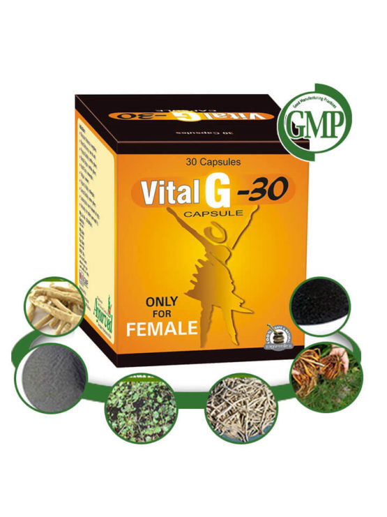 Herbal Energy Booster Pills for Women