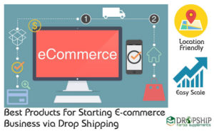 Best Products for Starting E-commerce Business via Drop Shipping