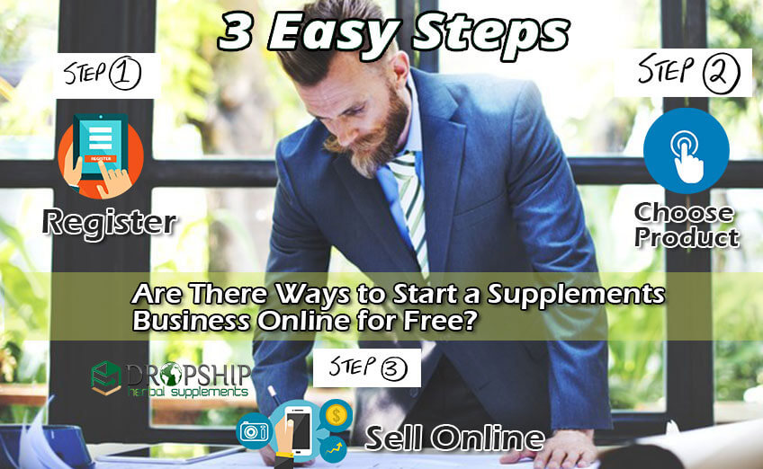 Start a Supplements Business Online