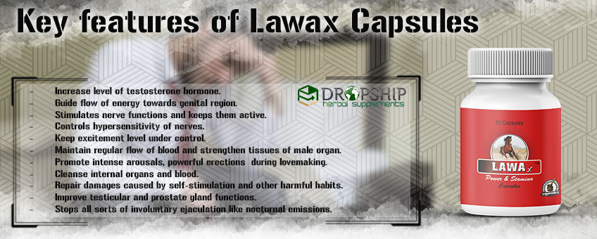 Benefits of Lawax Capsules