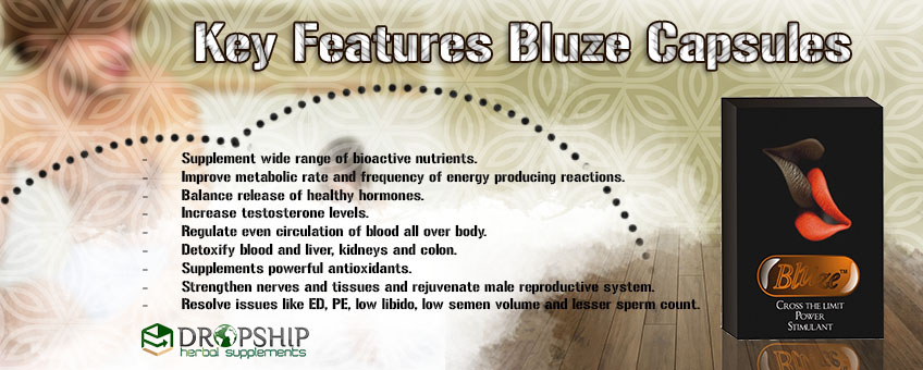 Key Features of Bluze Capsules