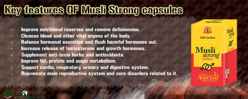 Natural Male Vitality Pills Benefits
